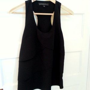 Central Park West black sleeveless top - size S